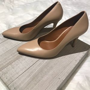 a9024a6a74a Coach Shoes | Waverly Pumps Nude Leather | Poshmark